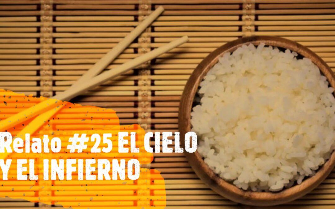 palillos y arroz