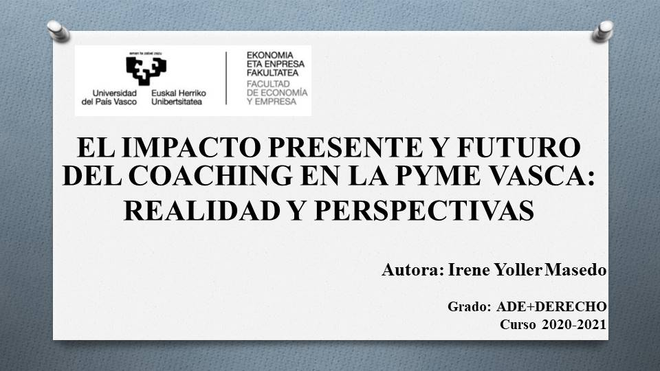 Coaching pyme vasca